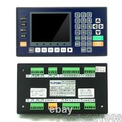 TC5530V 3 Axis CNC Motion Controller with 3.5 Color LCD For CNC Router Servo pans