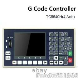 TC5540H 4 Axis CNC Controller System G Code Motion Controller with MPG For CNC pan