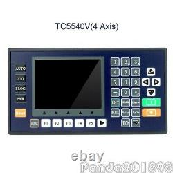 TC5540V 4 Axis CNC Motion Controller with 3.5 Color LCD For CNC Router Servo pans