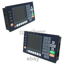 TC5540V 4 Axis CNC Motion Controller with 3.5 Color LCD For CNC Router Servo tps