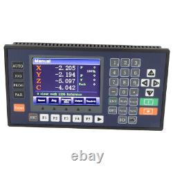 TLC5540 CNC 4-axis Motion Controller High-precision CNC Controller With LCD