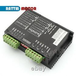 UK 4 Axis USB CNC Control Board Nema23 Stepper Motor 425oz &Driver Kits 4A 40V