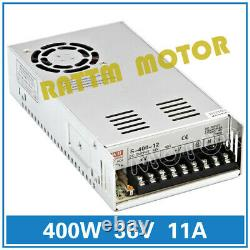 UK4 Axis USB CNC Nema23 Stepper Motor 425oz. In 112mm& 4A Driver Controller Kit