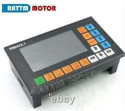 UK4Axis 500KHZ Motion Controller Offline Stand Alone CNC Control System G-Code