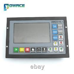 UKDDSC V3.1 4 Axis CNC PLC Offline Stand Alone Motion Controller G-Code System