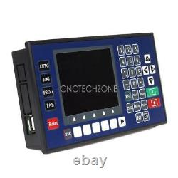 USB 2 Axis CNC Motion Controller Stepping Motor Controller 150KHz LCD Display