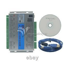 USB 2MHz Mach4 CNC 3 Axis Motion Control Card Breakout Board fr Machine Centre Z