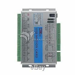 USB 2MHz Mach4 CNC 6 Axis Motion Control Card Breakout Board for Machine Centre