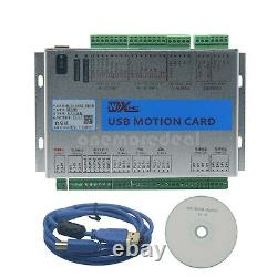 USB Mach4 CNC 3/4/6 Axis Motion Control Breakout Board 2MHz For CNC Engraving