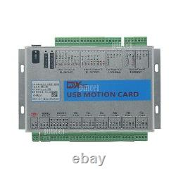 USB Mach4 CNC 6 Axis Motion Control Card Breakout Board for Machine Centre
