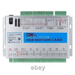 Upgrade 6 Axis 2MHz USB Mach3 CNC Motion Control Card Breakout Board Windows 7