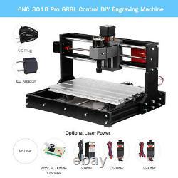 Upgrade CNC 3018 Pro GRBL Control DIY Router Laser Engraver Machine 3Axis + ER11
