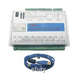 Upgrade Mach3 6 Axis Motion Controller Card USB Port CNC Breakout Board 2MHz