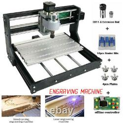 Upgrade Version CNC3018 DIY CNC Router Kit Engraving Machine GRBL Control 3Axis