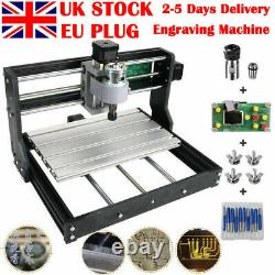 Upgrade Version DIY CNC3018 Router GRBL Control Engraving Machine 3 Axis UK