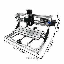 VEVOR CNC 3018 CNC Router Kit 3 Axis CNC Router Machine GRBL Control with ER1