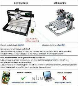 Vogvigo Upgrade Version DIY CNC3018 Router GRBL Control Engraving Machine 3 Axis