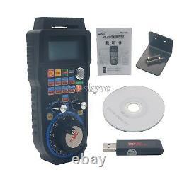 Wireless 6 Axis CNC MACH3 Electronic Handwheel Manual Controller USB MPG UK
