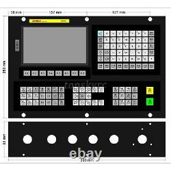 XC809DE 5 Axis CNC Motion Controller System with 7 Color LCD For Carving Milling