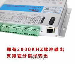 XHC MACH3 3 Axis Ethernet Motion Control Card CNC Breakout Board for Engraver