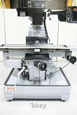 Xyz Smx Slv 3 Axis Cnc Turret MILL Prototrak Smx Control £16,950.00 + Vat
