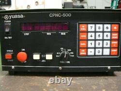 YUASA CNC Precision Programmable CPNC-500 Control 4th axis Controller