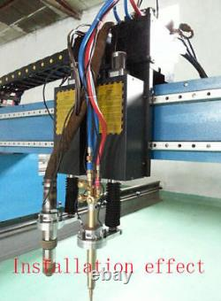Z-axis Flame/Plasma Torch Lifter 100mm For CNC Cutting Machine Height Controller